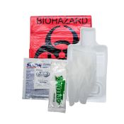 Biohazard Fluid Clean Up Kit With Green Z