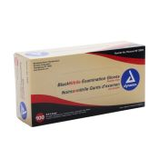 XXL Black Nitrile Exam Gloves (100/Bx)