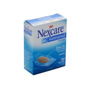 Nexcare Waterproof Bandage Clear 20/Bx