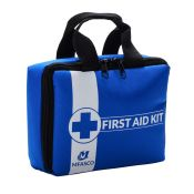 Empty First Aid Bag Blue With Handles MFA