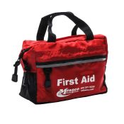 First Aid Bag Red With Handles Empty Each