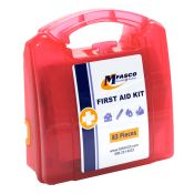 10 Person First Aid Kit 83 Pieces by MFASCO
