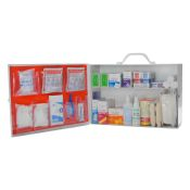 Workplace First Aid Kit 2 Shelf Class B Fill With Logo