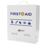 First Aid Box Empty 3 Shelf W/Logo