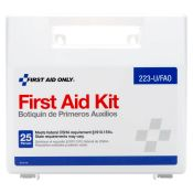 First Aid Kit FAO#223u 25 Person Plastic