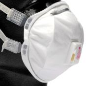 3m #8293 P100 Particulate Respirator With Exhalation Valve