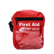 First Aid Pack Pouch With Strap Empty Red