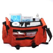 Sports First aid Kit Bag Orange 277 Piece