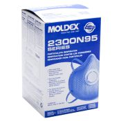Moldex #2300 N95 Disposable Dust Mist Respirator With Valve 10/box