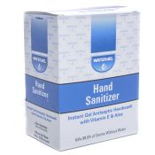 Water Jel Hand Sanitizer Gel Packets 144/box