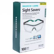 Baush & Lomb Sightsaver #8576 Antifog Lens Cleaning Towelettes 100/box