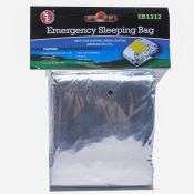 Emergency Prepardness Mylar Sleeping Bag Each
