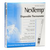Nextemp Disposable Thermometer 100/box