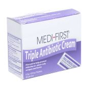 Medi-First Triple Antibiotic Ointment Individual Packets 25/box