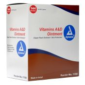 Vitamin A & D Ointment Individual Use Packets 144/box