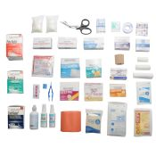 First Aid Kit Refill for 3 Shelf Kit With Meds