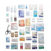 First Aid Kit Refill for 4 Shelf Large Kit No Medications