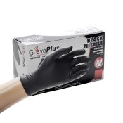Ammex Glove Plus Black Nitrile 5 Mil (100/Bx)