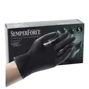 Black Nitrile Gloves by Semperforce (100/Bx)