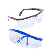 Radians Shark Safety Glass Colored Frame Clear Lens