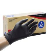 Black Nitrile Disposable Gloves Powder Free 100/box