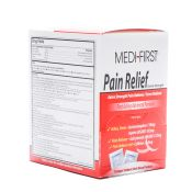 Medifirst Pain Relief Medication Tablets Industrial Packets
