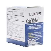 Medifirst Cold Relief Medication Tablets Packets