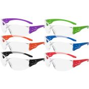 Trulock Safety Glasses Color Pack (12pr/Bx)