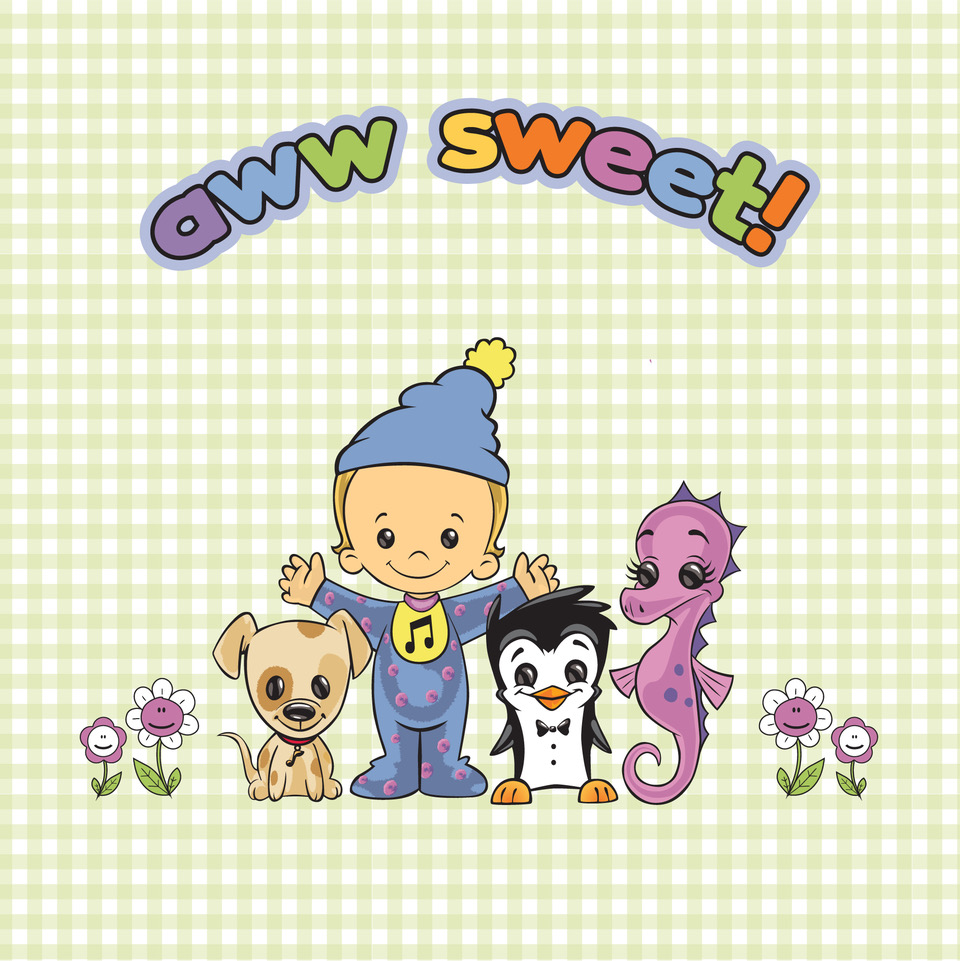 All the Majors for Minors characters with the text 'aww sweet' written above them
