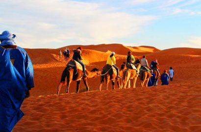 4 Days Desert Tour Marrakech To Merzouga Dunes