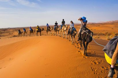 4 Days Tour From Marrakech To Merzouga Dunes