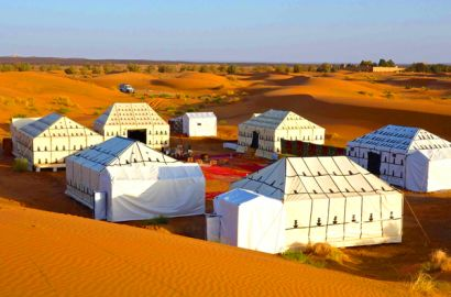 5 Days Desert Tour From Marrakech Via Merzouga Dunes