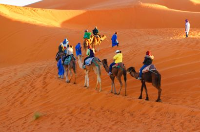 5 Days Tour From Marrakech To Erg Chebbi Merzouga