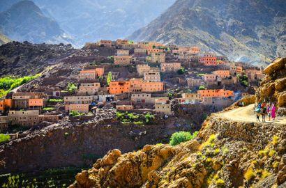 Three Valleys Via Atlas Mountains From Marrakech