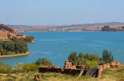 Three Valleys Via Lake Lalla Takerkoust From Marrakech