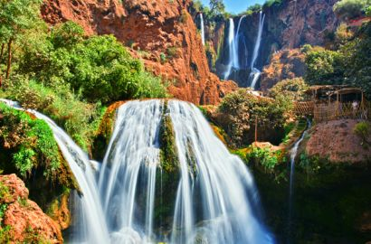 Ouzoud Waterfalls From Marrakech