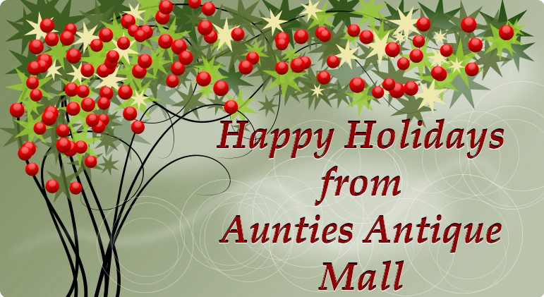 Ohio Antiques Aunties Antique Mall Holiday