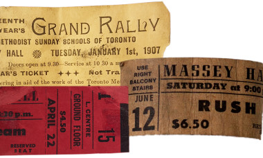 Massey Hall Ticket Stub Contest