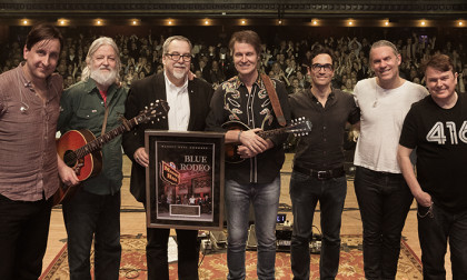 Blue Rodeo Honoured at Massey Hall