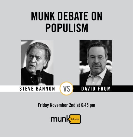 Munk Debate on Populism