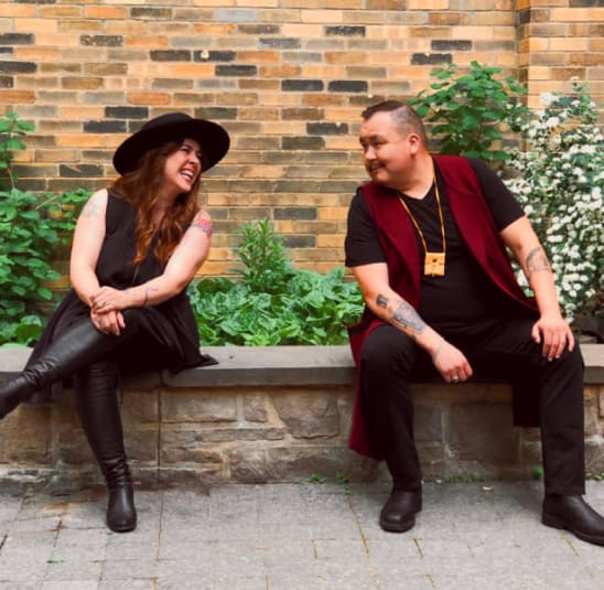 Serena Ryder and William Prince