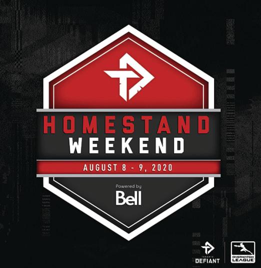 Toronto Defiant August Homestand