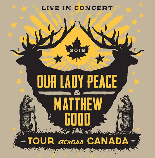 MATTHEW GOOD AND OUR LADY PEACE