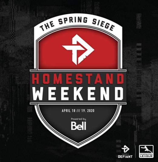 Toronto Defiant Spring Siege