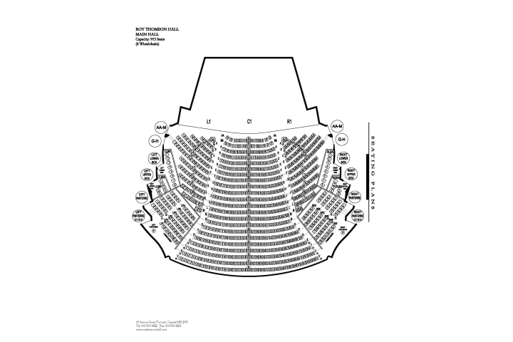 Seating Map | Roy Thomson Hall on house building games, house design, modern house plans, ranch house plans, construction plans, house plans 500 sf, house floor plans, luxury house plans, house building project, house building specs, house architectural plans, create your own house plans, simple house plans, small house plans, country house plans, amazing house plans, narrow lot house plans, draw your own house plans, house plans with, house fence plans,
