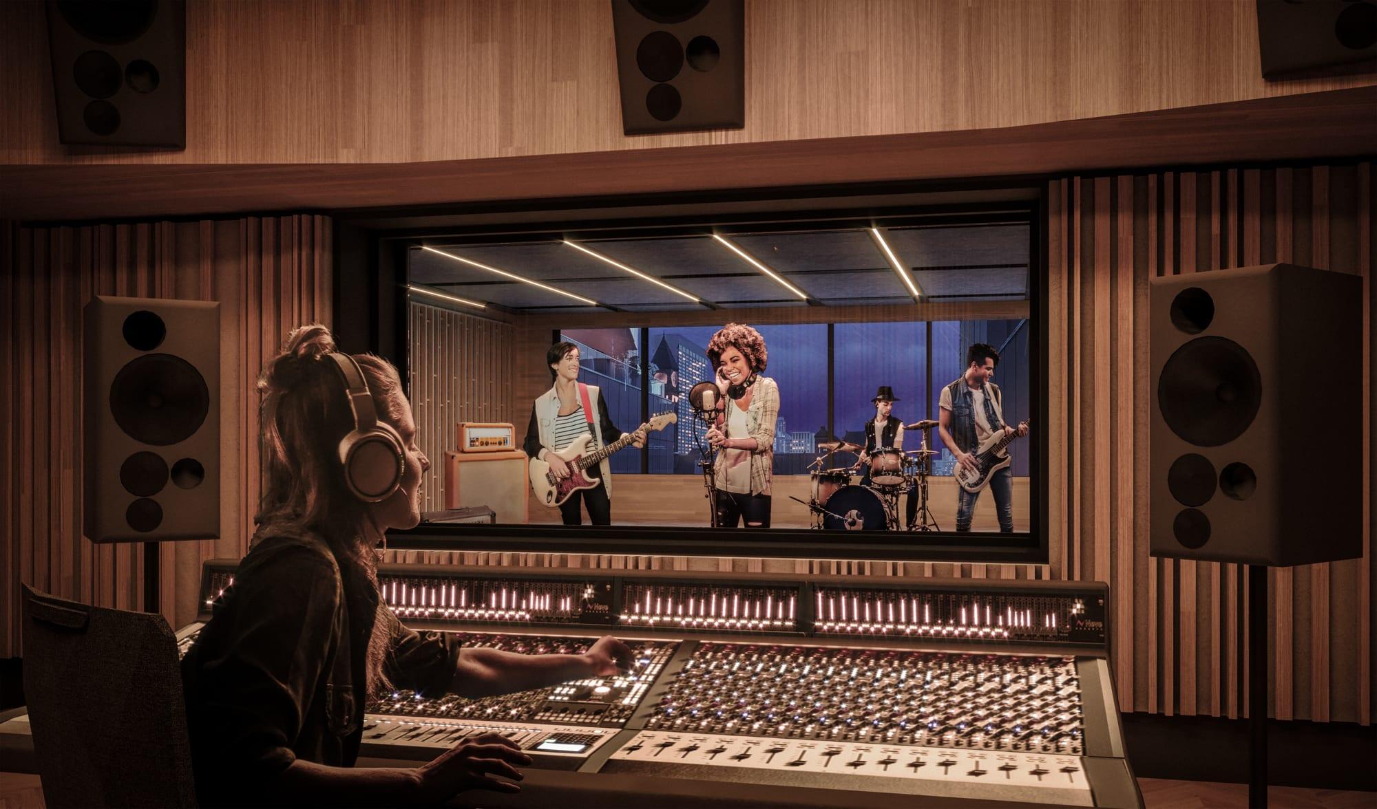 Rendering of the 7th Floor Studio