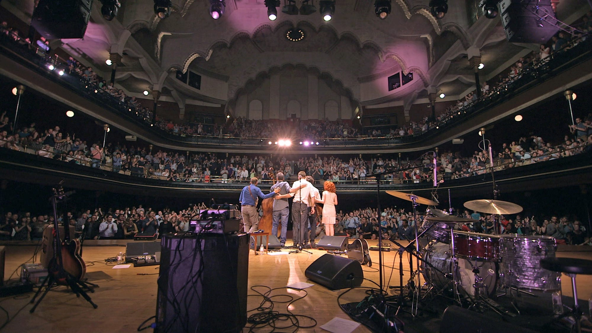 Great Lake Swimmers Standing Ovation at Massey Hall