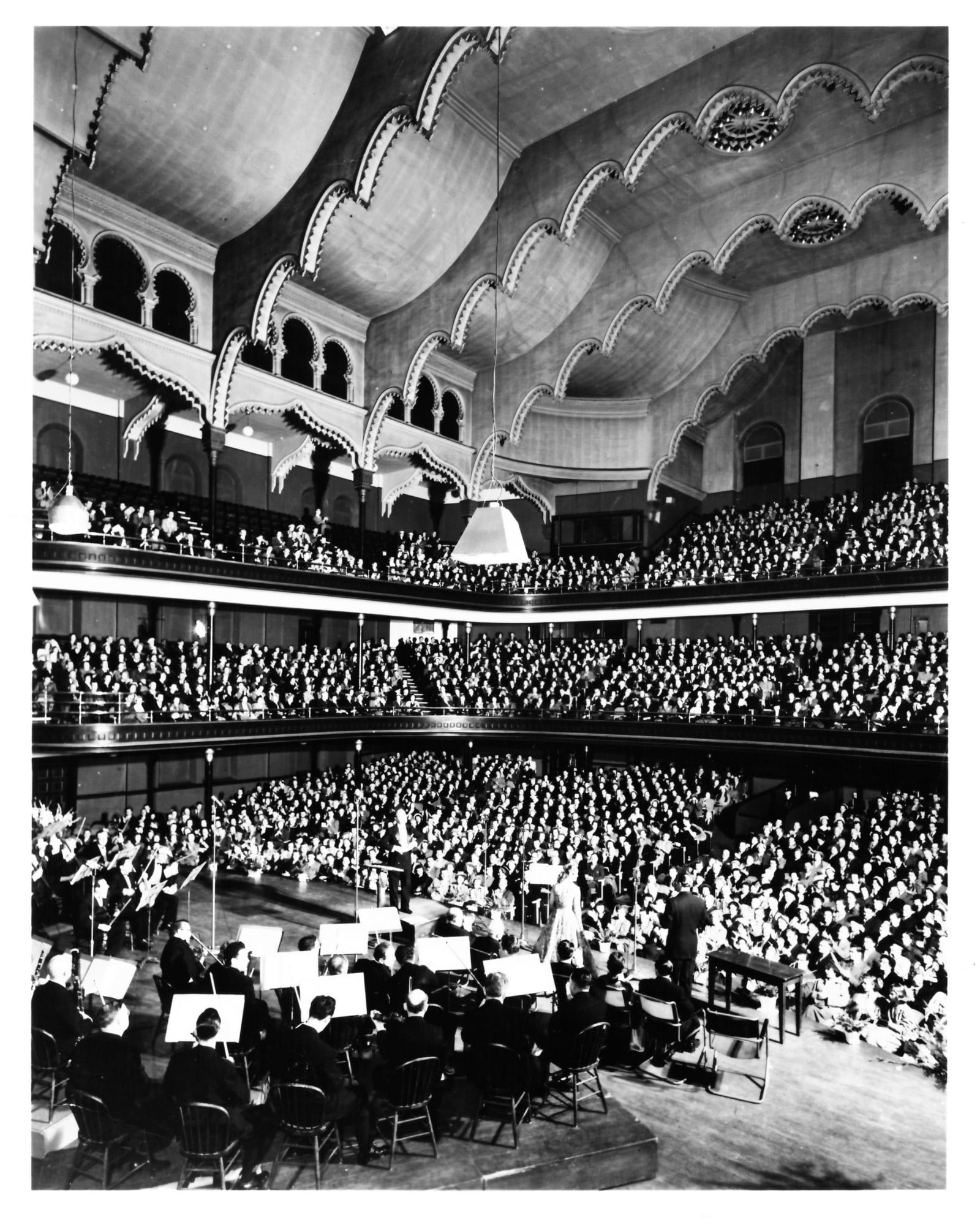 Massey Hall Interior - 1951