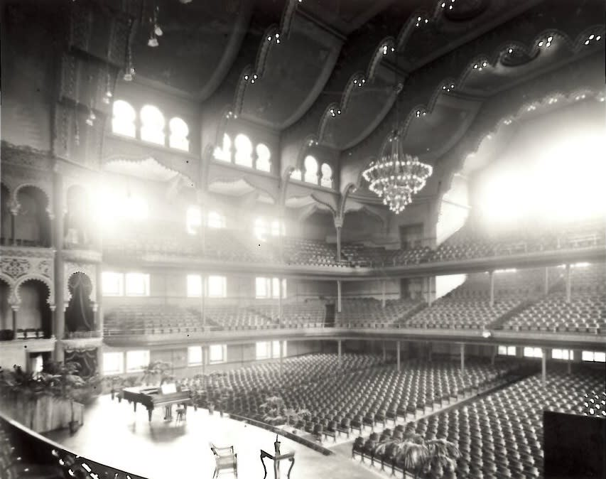 Massey Hall Auditorium - 1894