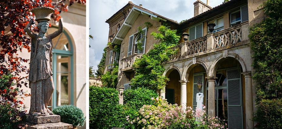 Italian style villa in Bath